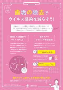 歯垢の除去でウイルス感染を減らそう